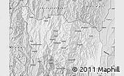 Silver Style Map of Tonzang