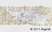 Classic Style Panoramic Map of Tonzang