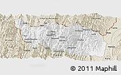 Classic Style Panoramic Map of Tonzang