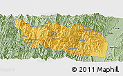 Savanna Style Panoramic Map of Tonzang