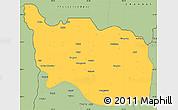 Savanna Style Simple Map of Tonzang