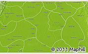 Physical 3D Map of Danubyu