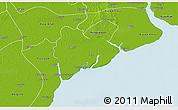 Physical 3D Map of Dedaye