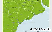 Physical Map of Dedaye