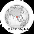 Outline Map of Dedaye