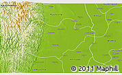Physical 3D Map of Ingapu