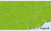 Physical 3D Map of Kyaiklat