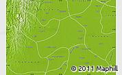 Physical Map of Kyonpyaw