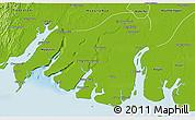 Physical 3D Map of Labutta