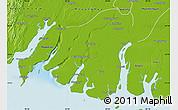 Physical Map of Labutta