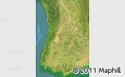 Satellite Map of Irrawaddy