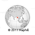 Outline Map of Myanaung