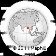 Outline Map of Myaungmya