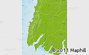 Physical Map of Ngaputaw