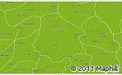 Physical 3D Map of Pantanaw