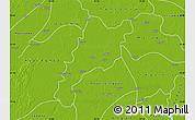 Physical Map of Wakema