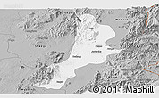 Gray Panoramic Map of Bhamo