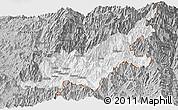 Gray Panoramic Map of Chipwi