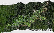 Satellite Panoramic Map of Chipwi, darken