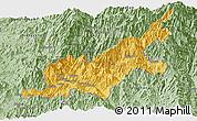 Savanna Style Panoramic Map of Chipwi