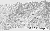 Silver Style Panoramic Map of Chipwi