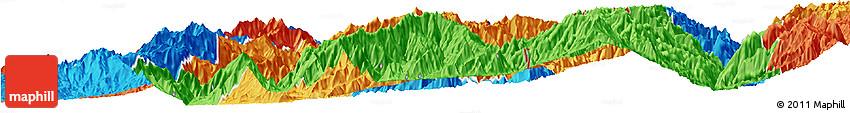 Political Horizon Map of Hsawlaw