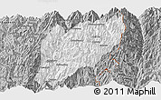 Gray Panoramic Map of Hsawlaw