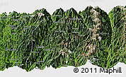 Satellite Panoramic Map of Hsawlaw