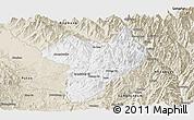 Classic Style Panoramic Map of Machanbaw