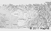 Silver Style Panoramic Map of Machanbaw