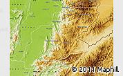 Physical Map of Mansi