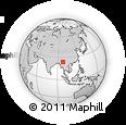 Outline Map of Mansi