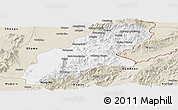 Classic Style Panoramic Map of Mansi