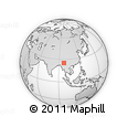 Outline Map of Mogaung