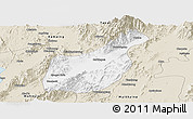 Classic Style Panoramic Map of Mogaung