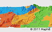 Political Panoramic Map of Mogaung