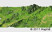 Satellite Panoramic Map of Mogaung