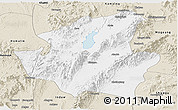 Classic Style Panoramic Map of Mohnyin
