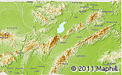 Physical Panoramic Map of Mohnyin