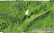 Satellite Panoramic Map of Mohnyin