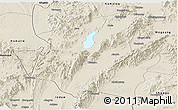 Shaded Relief Panoramic Map of Mohnyin