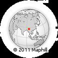 Outline Map of Myitkyina