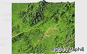 Satellite Panoramic Map of Myitkyina