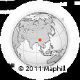 Outline Map of Putao