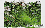 Satellite Panoramic Map of Putao