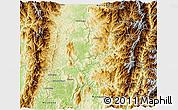 Physical 3D Map of Sumpranbum