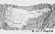 Gray Panoramic Map of Sumpranbum