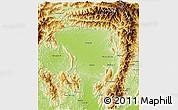 Physical 3D Map of Tanai