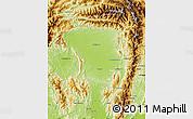 Physical Map of Tanai