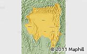 Savanna Style Map of Tanai